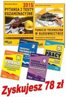 Pakiet egzaminacyjny 2 - Pytania i testy 2015 + Funkcje techniczne + Przepisy techn., KPA, BHP